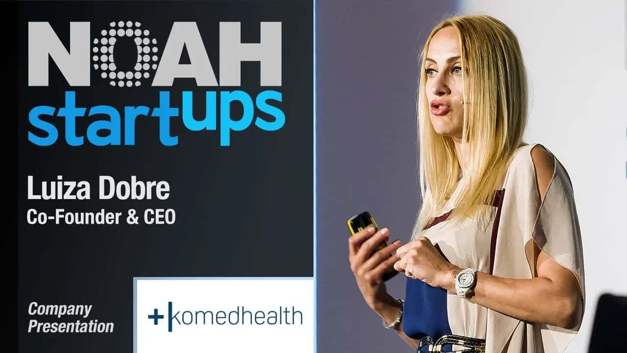 Luiza Dobre, Komed Health - NOAH 2018 Berlin