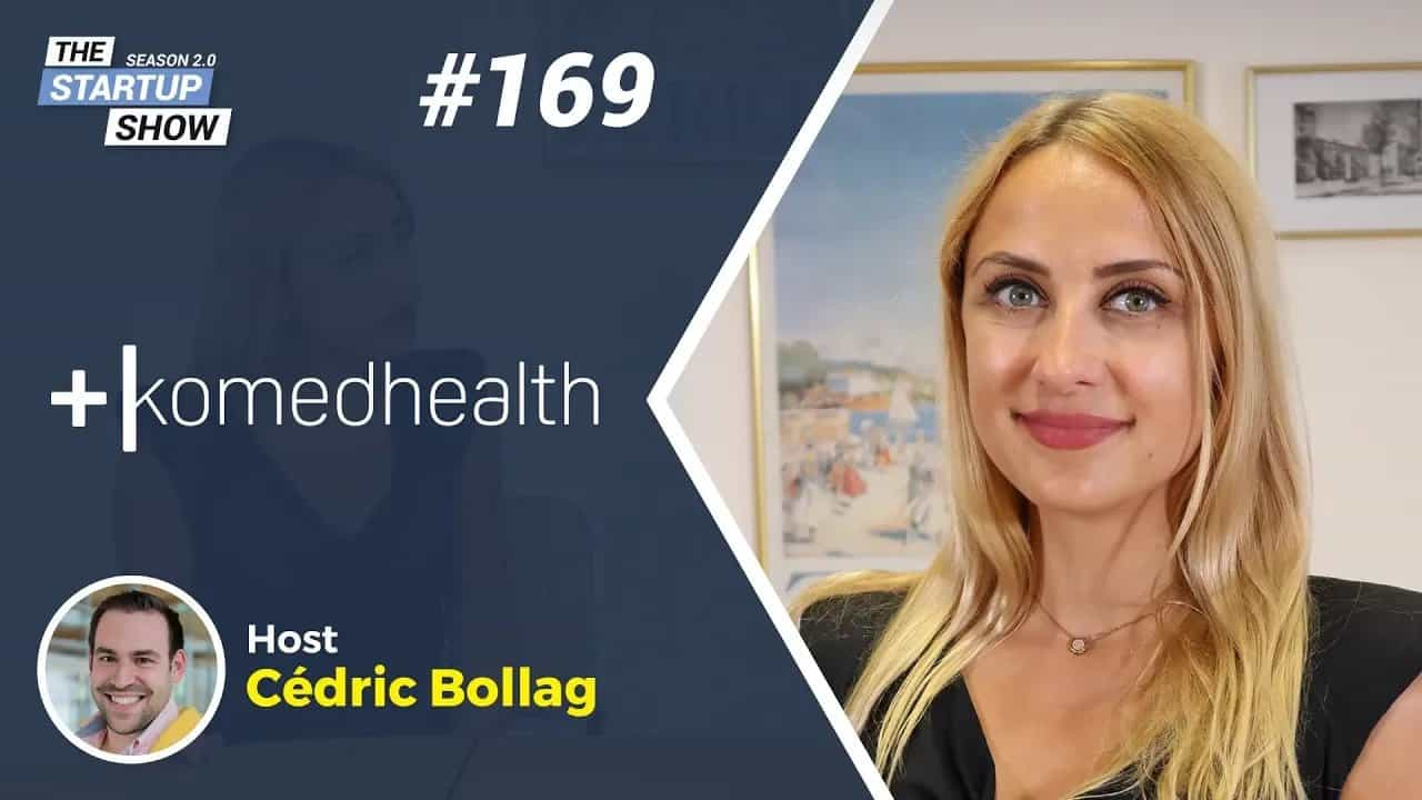 Luiza Dobre, Komed Health - Interviewed by Cédric Bollag of Global Tech Star