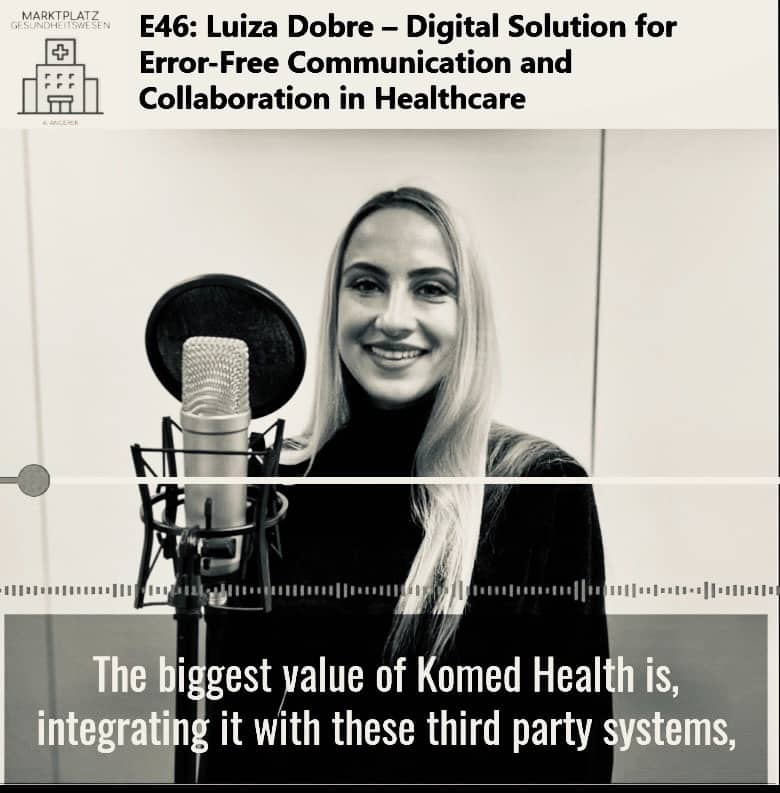 Luiza Dobre - Komed Health